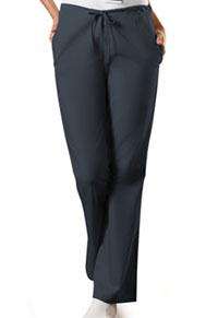 Cherokee Workwear Natural Rise Flare Leg Drawstring Pant Pewter (4101P-PWTW)