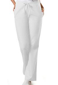 Natural Rise Flare Leg Drawstring Pant (4101P-WHTW)