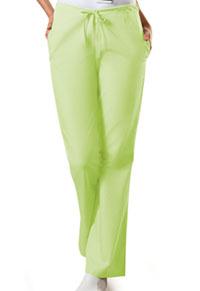 Cherokee Workwear Natural Rise Flare Leg Drawstring Pant Celadon (4101-CELW)