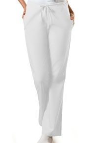 WW Originals Natural Rise Flare Leg Drawstring Pant (4101-WHTW) (4101-WHTW)