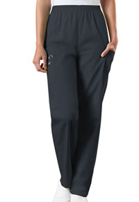 Cherokee Workwear Natural Rise Tapered Pull-On Cargo Pant Pewter (4200-PWTW)