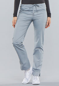 WW Core Stretch Mid Rise Slim Drawstring Pant (4203P-GRYW) (4203P-GRYW)