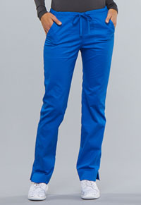 WW Core Stretch Mid Rise Slim Straight Drawstring Pant (4203-ROYW) (4203-ROYW)