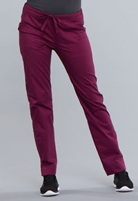 WW Core Stretch Mid Rise Straight Leg Drawstring Pant (4203-WINW) (4203-WINW)