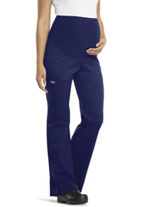 Cherokee Workwear Maternity Knit Waist Pull-On Pant Navy (4208-NAVW)