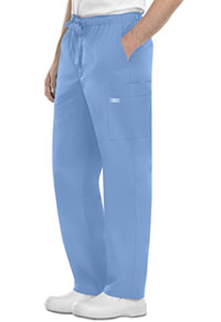 Cherokee Workwear Men's Fly Front Cargo Pant Ciel (4243-CIEW)