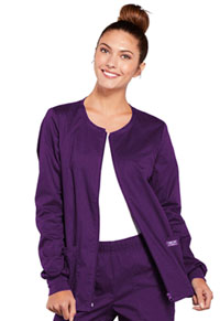 WW Core Stretch Zip Front Warm-Up Jacket (4315-EGGW) (4315-EGGW)