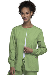 Snap Front Warm-Up Jacket (4350-SAGW)