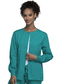 Snap Front Warm-Up Jacket (4350-TLBW)
