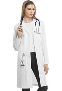 Cherokee Workwear 40 Unisex Lab Coat White (4421-WHTW)