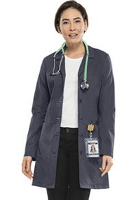 Cherokee Workwear 33 Lab Coat Pewter (4439-PEWV)