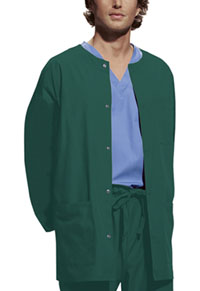 Men's Snap Front Warm-Up Jacket (4450-HUNW)