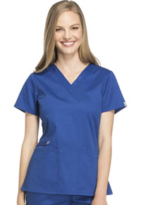 Cherokee Workwear V-Neck Top Galaxy Blue (44700A-GAB)