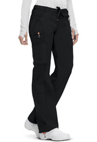 Code Happy Low Rise Straight Leg Drawstring Pant Black (46000A-BXCH)