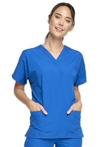 Cherokee Workwear V-Neck Top Royal (4700-ROYW)