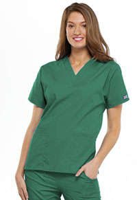 Cherokee Workwear V-Neck Top Surgical Green (4700-SGRW)