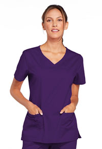 WW Core Stretch V-Neck Top (4727-EGGW) (4727-EGGW)