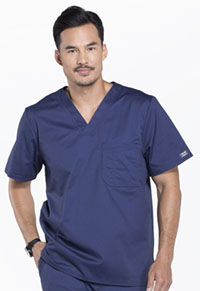 Men's V-Neck Top (4743-NAVW)