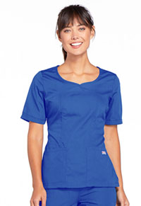 Cherokee Workwear V-Neck Top Royal (4746-ROYW)