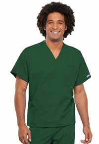 Cherokee Workwear Unisex V-Neck Tunic. Hunter (4777-HUNW)