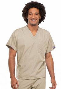Cherokee Workwear Unisex V-Neck Tunic Khaki (4777-KAKW)