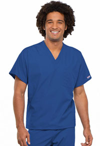 Cherokee Workwear Unisex V-Neck Tunic. Royal (4777-ROYW)