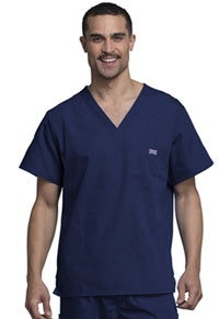 Men's V-Neck Top (4789-NAVW)