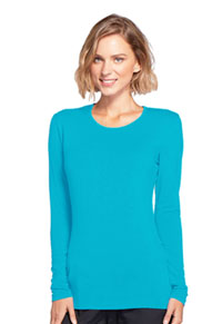 Long Sleeve Underscrub Knit Tee (4881-TRQW)
