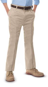 cab58ac4fe Classroom Uniforms Boys Adj. Waist Pleat Front Pant Khaki (50772-KAK)