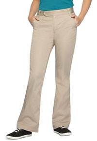 8d17817e95 Classroom Uniforms Girl's Stretch Moderate Flare Leg Pant Khaki 51322A-KAK