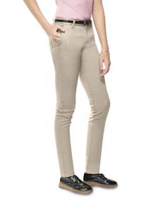 Classroom Uniforms Girls Stretch Skinny Leg Pant Khaki (51652A-KAK)