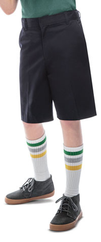 Classroom Uniforms Boys Adj. Waist Flat Front Short Dark Navy (52362-DNVY)