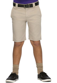 Boys Stretch Slim Fit Shorts Khaki (52481A-KAK)