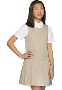 Classroom Uniforms Girls Plus Pleated Jumper Khaki (54143-KAK)