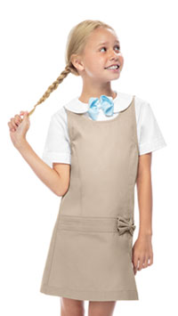 Classroom Uniforms Girls Zig-Zag Jumper Khaki (54221-KAK)