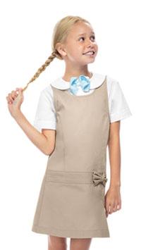 b6a8821194 Classroom Uniforms Girls Zig-Zag Jumper Khaki (54221-KAK)