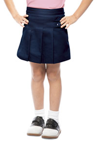 Classroom Uniforms Girls Pleated Tab Scooter Dark Navy (55122A-DNVY)