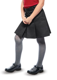 Classroom Uniforms Girls Adjustable Waist Hipster Scooter Black (55322A-BLK)