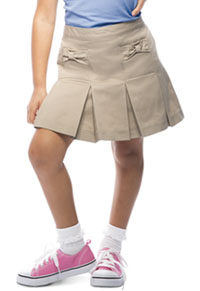 Classroom Uniforms Bow Pocket Scooter Khaki (55982A-KAK)