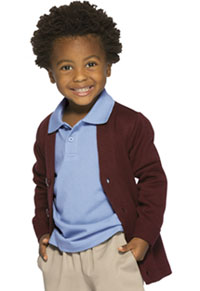 Classroom Uniforms Youth Unisex Cardigan Sweater Burgundy (56432-BUR)