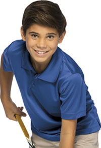 Classroom Uniforms Youth Unisex Moisture-Wicking Polo Shirt SS Royal (58602-SSRY)