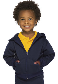 Classroom Uniforms Toddler Zip-up Sweatshirt Dark Navy (59220-DNVY)