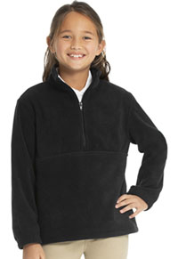Classroom Uniforms Youth Unisex Polar Fleece Pullover Black (59302-BLK)