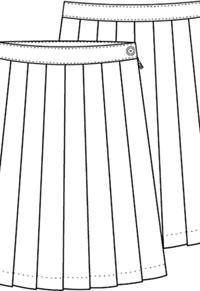 8a15b151e6 Classroom Uniforms Girls Plus Plaid Knife Pleat Skirt PLAID 42 (5P5323A-P42)