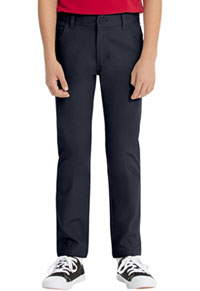 Real School Uniforms REAL SCHOOL Boys Stretch Skinny Pant Navy (60242A-RNVY)