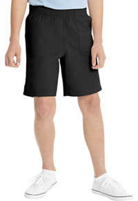Real School Uniforms Everybody Pull-on Shorts Black (62022-RBLK)