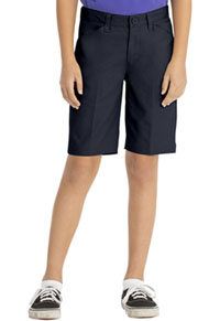 Real School Uniforms Real School Girls Low Rise Short Navy (62072-RNVY)