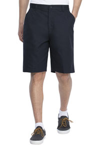 Real School Uniforms Real School Boys Husky Flat Front Short Navy (62363-RNVY)