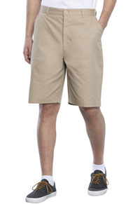 Real School Uniforms Real School Men's Flat Front Short Khaki (62364-RKAK)