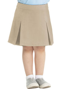 Real School Uniforms Pleat Front Scooter Khaki (65320-RKAK)